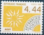France 1986 Months of the Year - Pre-cancelled (2nd Issue) c