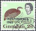 Gambia 1965 Birds Overprinted j