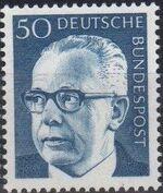 Germany, Federal Republic 1971 President Gustav Heinemann (4th Group) b