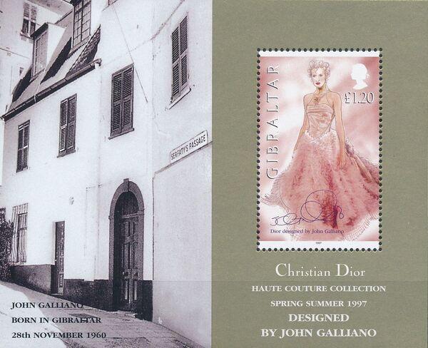 Gibraltar 1997 Dior Fashion Designs by John Galiano k