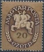 Hungary 1946 Post Rider - Definitives d