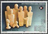Malta 1996 Prehistoric Art a