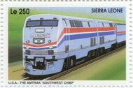 Sierra Leone 1995 Railways of the World 3f