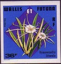Wallis and Futuna 1978 Flowers h
