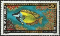 Wallis and Futuna 1993 Fishes d