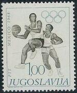 Yugoslavia 1968 19th Olympic Games, Mexico City b