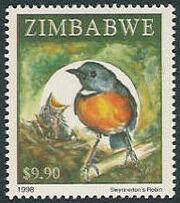 Zimbabwe 1998 Birds f