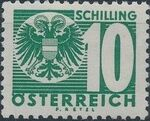Austria 1935 Coat of Arms and Digit p