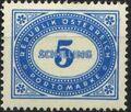 Austria 1947 Postage Due Stamps - Type 1894-1895 with 'Republik Osterreich' za.jpg