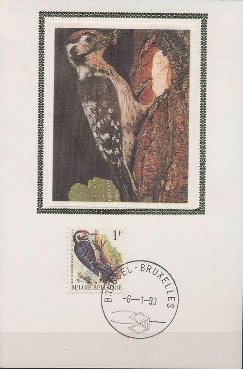 Belgium 1990 Birds (A) MCb