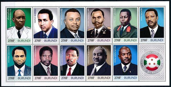 Burundi 2012 Presidents of Burundi l