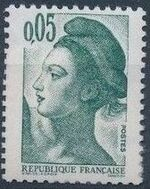 France 1982 Liberty after Delacroix (1st Issue) a