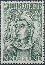 Netherlands 1939 12th Centenary of the Death of St. Willibrord a