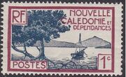 New Caledonia 1928 Definitives a