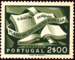 Portugal 1954 National Literacy Campaign c