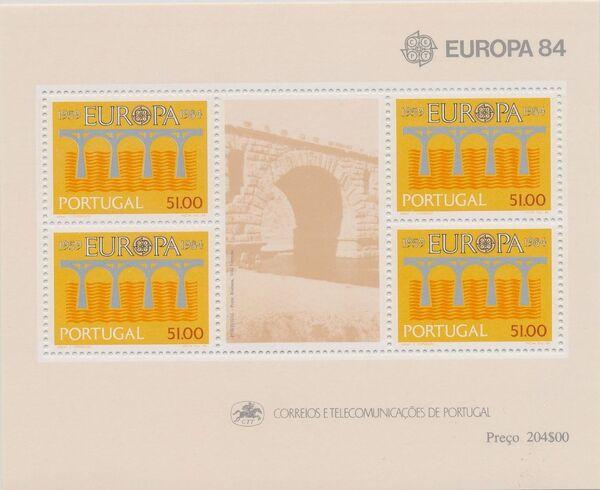 Portugal 1984 Europa h