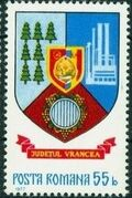 Romania 1977 Coat of Arms of Romanian Districts x