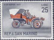 San Marino 1962 Automobiles (pre-1910) i