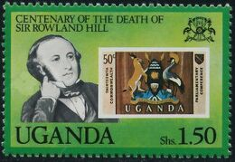 Uganda 1979 Centenary of the death of Sir Rowland Hill b