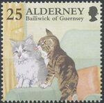 Alderney 1996 In Praise of the Cat c