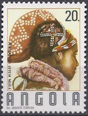 Angola 1987 Traditional Hairstyles e