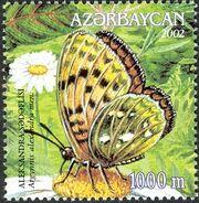 Azerbaijan 2002 Butterflies and Moths e
