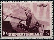 Belgium 1938 European Airmail Conference a