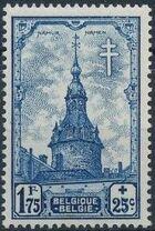 Belgium 1939 Anti Tuberculosis - Belfries f