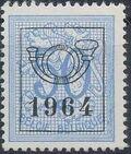 Belgium 1964 Heraldic Lion with Precancellations h