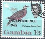 Gambia 1965 Birds Overprinted i