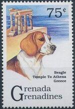 Grenada Grenadines 1993 Dogs c