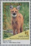 Grenada Grenadines 1995 100th Anniversary of Sierra Club - Endangered Species o