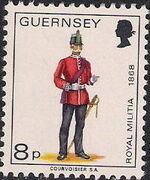 Guernsey 1974 Military Uniforms Definitive Issue j