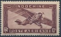 Indo-China 1933 Airmail - With Inscription RF c