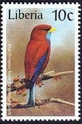 Liberia 1997 Birds f