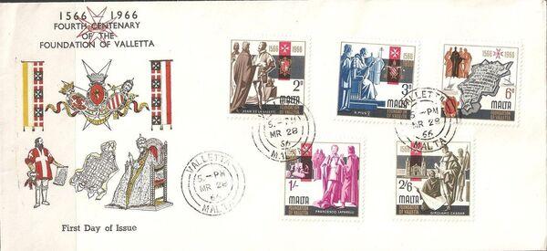 Malta 1966 4th Centenary Of The Foundation Of Valletta w