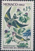 Monaco 1962 Protection of Useful Birds c