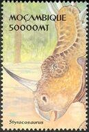 Mozambique 2002 Dinosaurs g