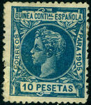Spanish Guinea 1905 Alfonso XIII p