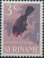 Surinam 1966 Birds c