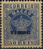 """Timor 1884 Stamps of Macau Overprinted """"TIMOR"""" f"""