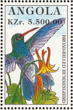 Angola 1996 Hummingbirds j