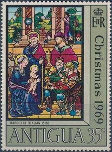 Antigua 1969 Christmas c