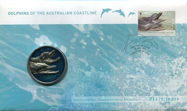 Australia 2009 WWF - Dolphins of the Australian Coastline FDCL