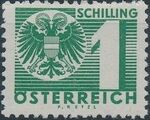 Austria 1935 Coat of Arms and Digit m