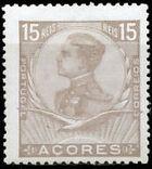 Azores 1910 D. Manuel II d