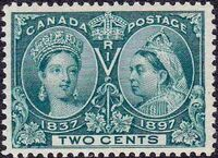 Canada 1897 60th Year of Queen Victoria's Reign c