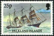 Falkland Islands 1989 Ships of Cape Horn l