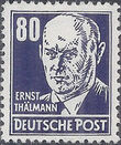 Germany DDR 1952 Famous People m