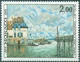 Monaco 1974 100th Anniversary of Impressionism f